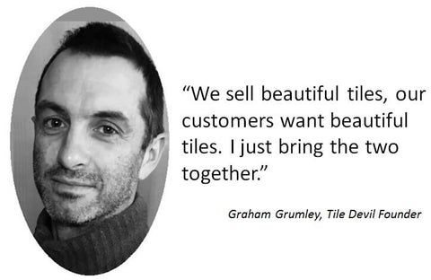 Graham Grumley of Tile Devil