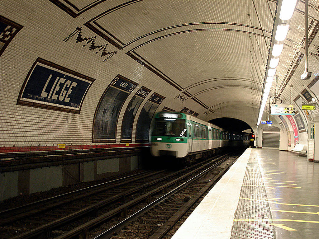 Metro Tunnel with Tiles