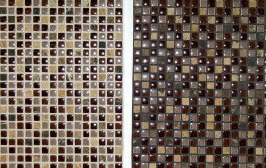 Mosaic Tiling with Grout
