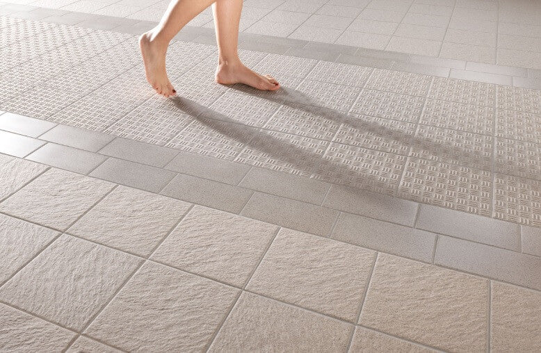 Slip Resistant Tiles for a Shower