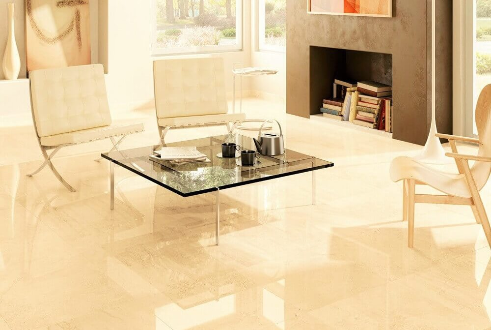 shiny kitchen floors the pros amp cons of gloss and matt tiles in your home 2195