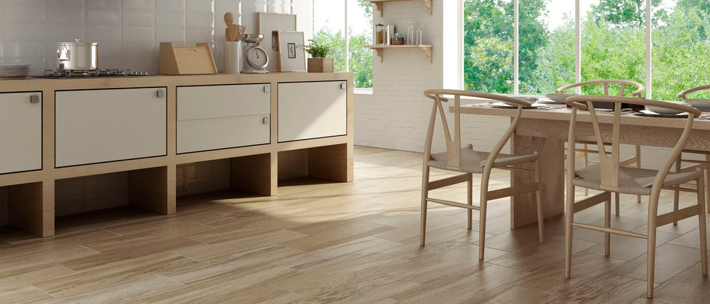 kitchen floor tiles wood effect how to save with wood effect tiles 8091