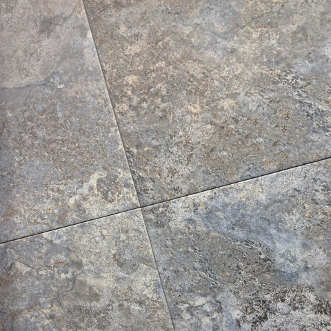 Airam Grey Slate Effect Floor Tiles