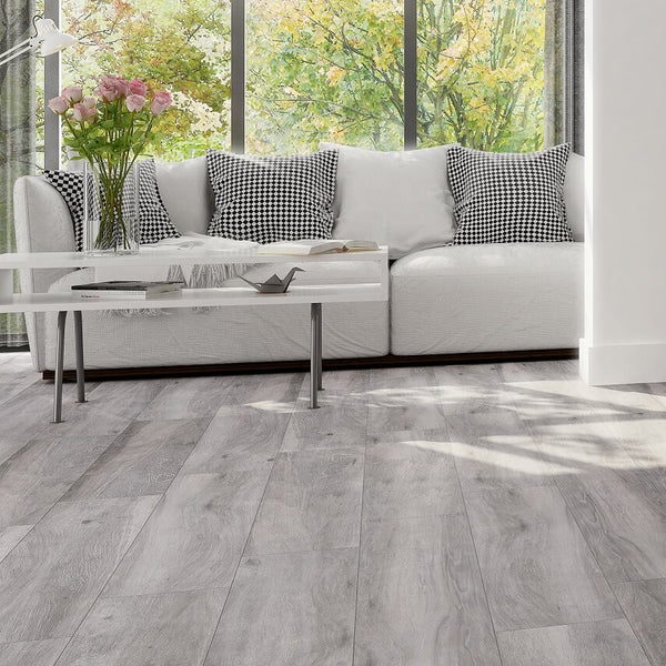 Wood Effect Floor Tiles Atelier Grey Tile Devil