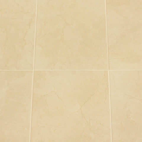 Bolonia Cream Ceramic Kitchen Floor Tiles - 45 x 45cm