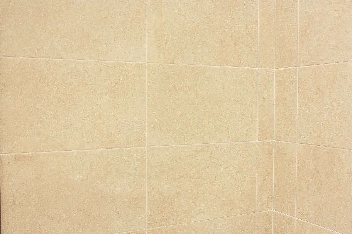 ... Bolonia Cream Wall Tiles On A Corner   31x45cm Part 80