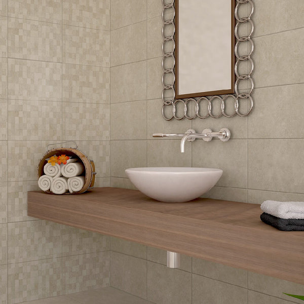 Chelsea Ceramic Tiles in Beautiful Bathroom