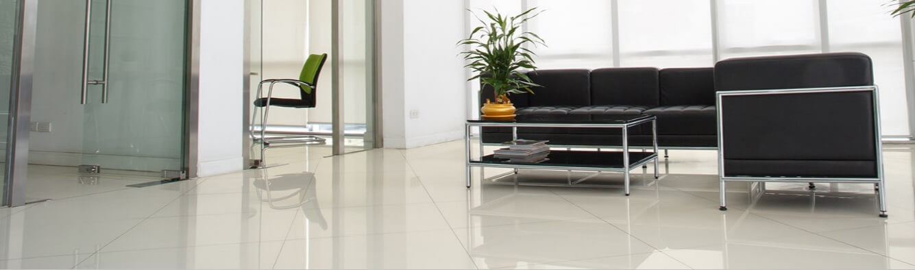 office floor tiles.  Office Harley Rectified White Porcelain Floor Tiles In Office Lobby In