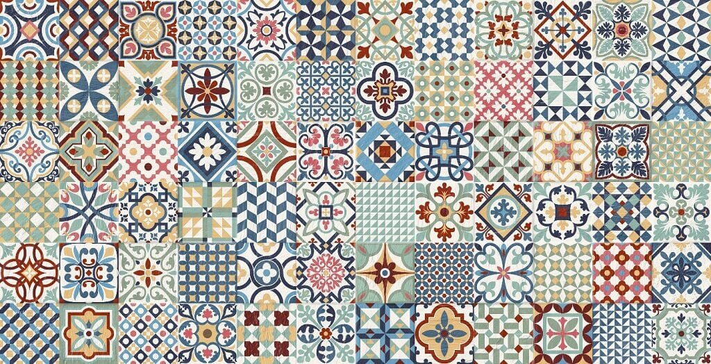 Heritage Mix Tiles - Art Deco Style