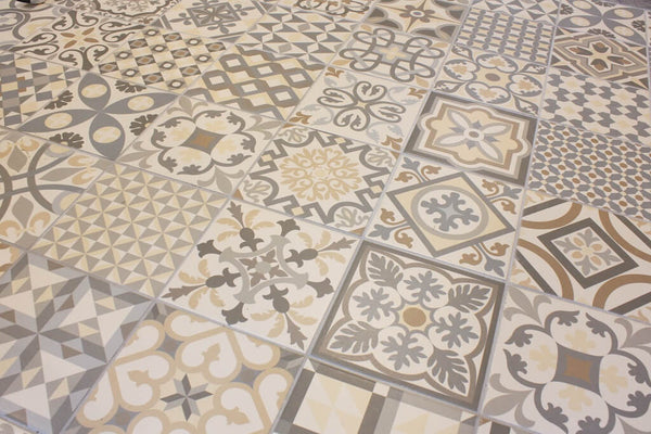 Heritage Tiles In Art Deco Style For Kitchens And
