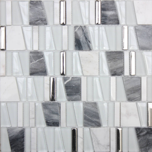 White Mosaic Tiles In Bathrooms For A Stunning Look