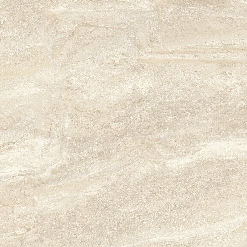 Marble Effect Tiles in a Beautiful High Gloss Cream