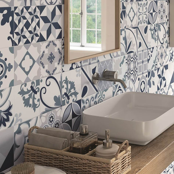 Lumier Blue Bathroom Wall Tiles