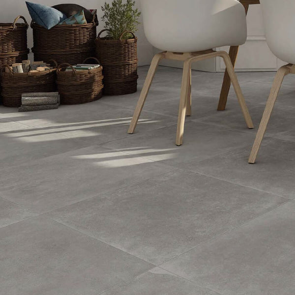 Grey Kitchen Tiles Styled By Spain's Halcon Ceramicas
