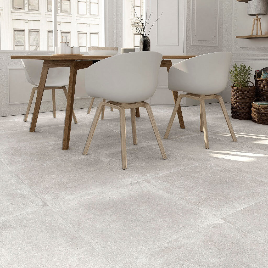 Grey Kitchen Floor Tiles Uk: Grey Kitchen Tiles In A Beautiful Soft Pearl Porcelain Shade