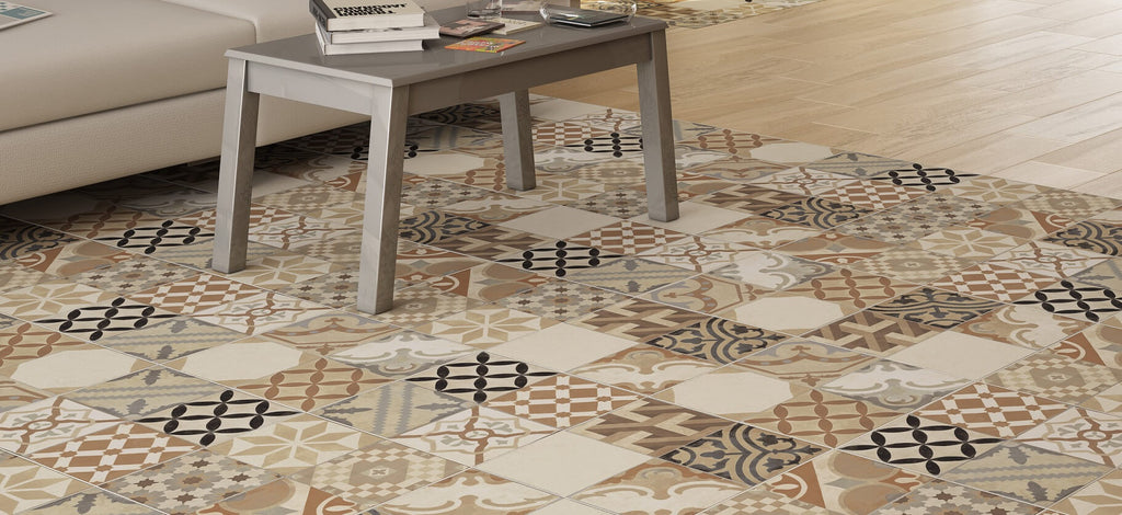 Moments Mix Art Deco Floor Tiles