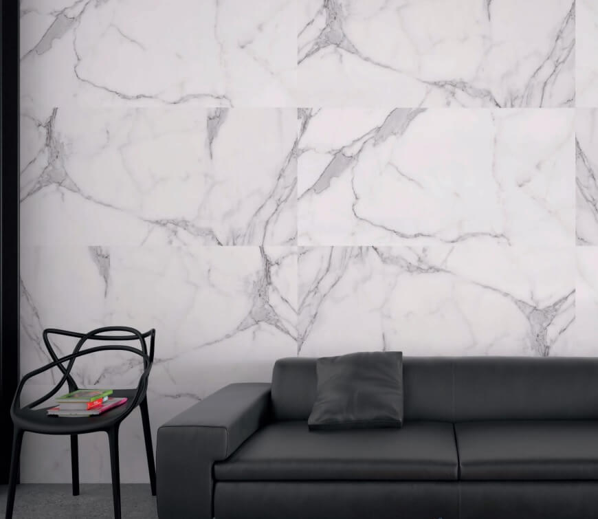 Marble Effect Porcelain Tiles for Stunning UK Homes