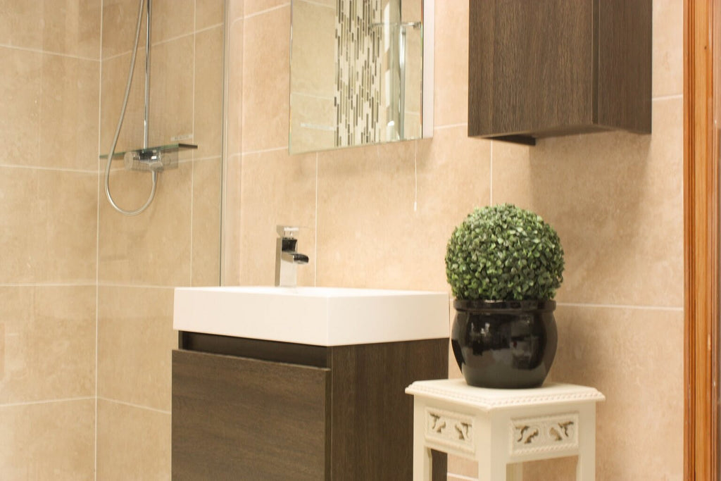 Which Size Tiles Are Best For Small Bathrooms Tile Devil