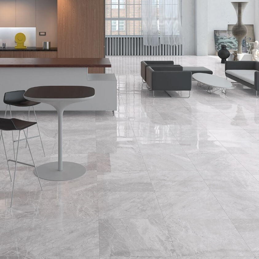 Marble Effect Floor Tiles Designed By Cicogres Of Spain