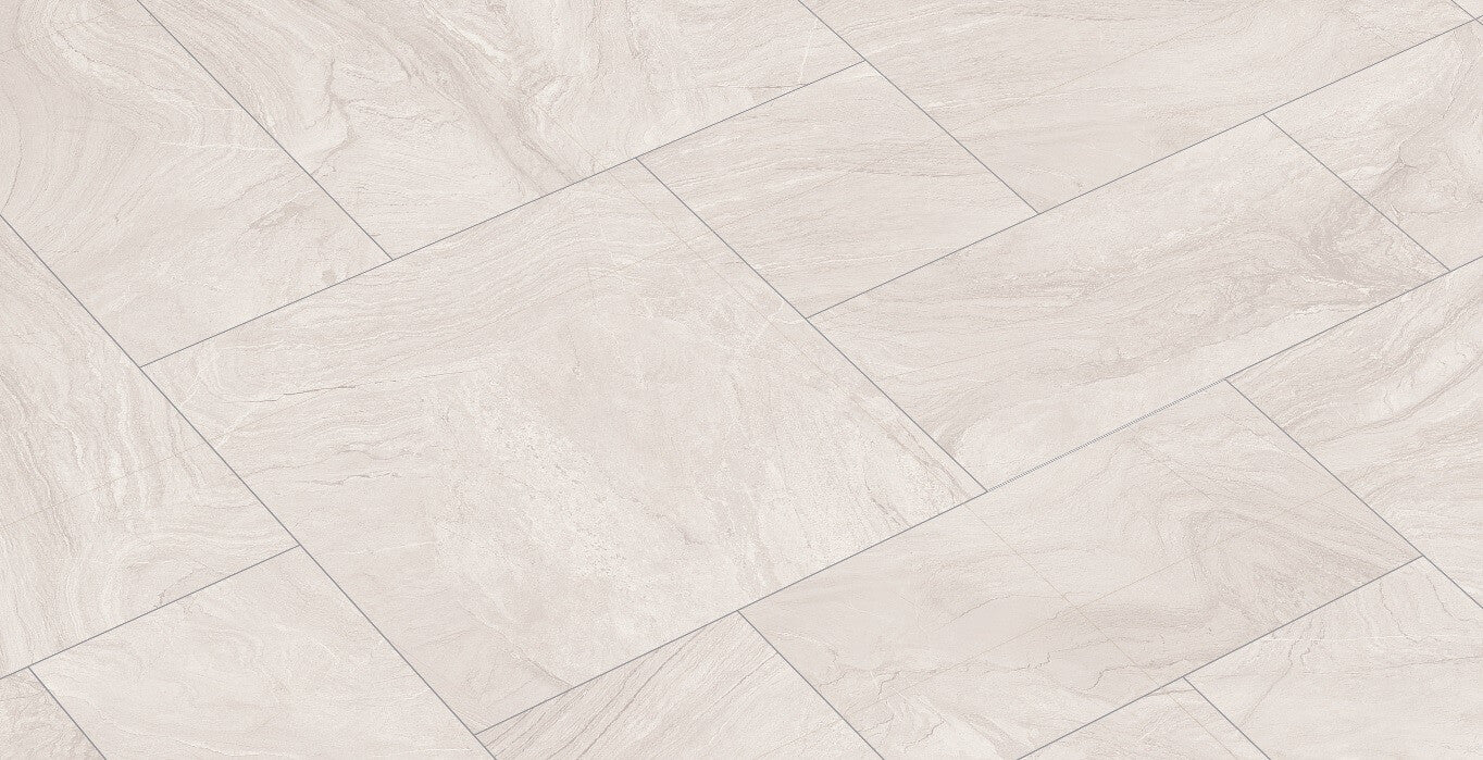 White kitchen floor tiles with beautiful styling by spains gayafores varana white sandstone effect floor tiles in 3 sizes dailygadgetfo Image collections