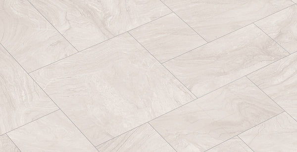 White Kitchen Floor Tiles With Beautiful Styling By Spain