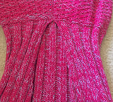 Premium Wool Blend Adult Mermaid Tail Blanket (Fuchsia)