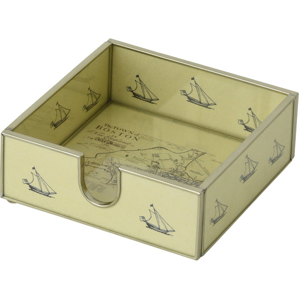 Boston Map Cocktail Napkin Holder