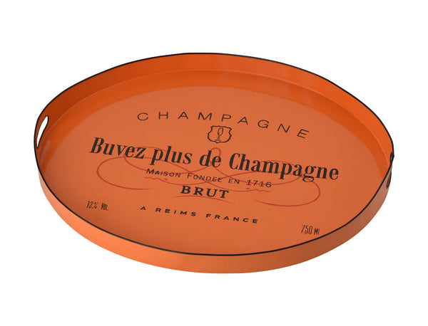 Tole Tray Orange Brut