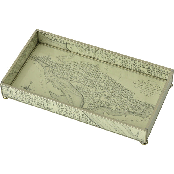Washington D.C. map 6 x 12 tray