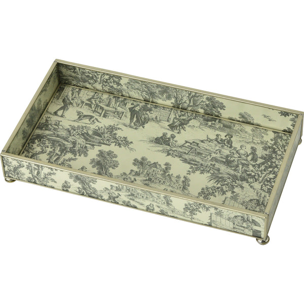 Black Toile 6 x 12 tray