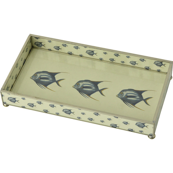 Blue Fish 6 x 12 tray