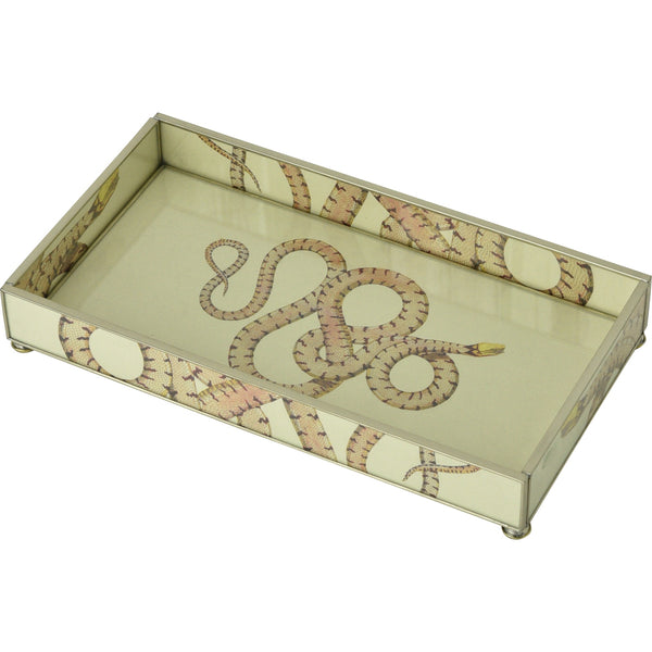 Yellow Headed Snake 6 x 12 Tray