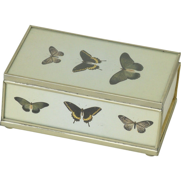 Three Butterflies Matchbox Cover