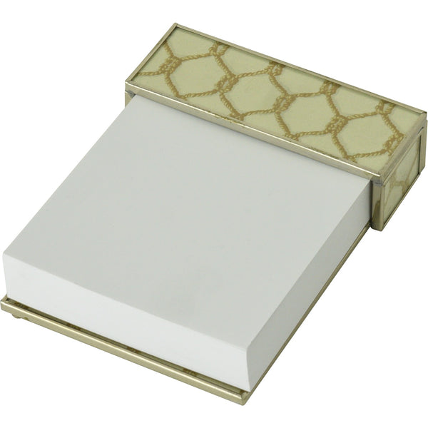 Gold Knot notepad