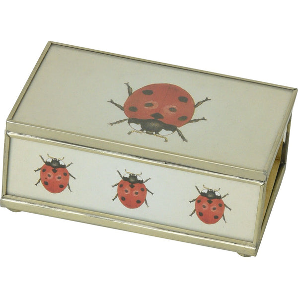 Lady Bug Matchbox Cover
