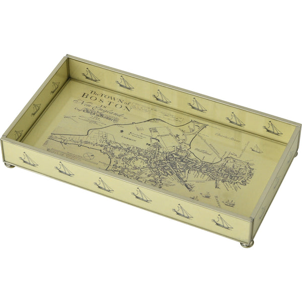 Boston Map 6 x 12 Tray