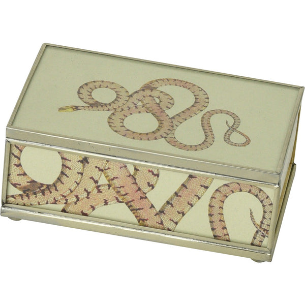 Yellow Headed Snake Matchbox Cover