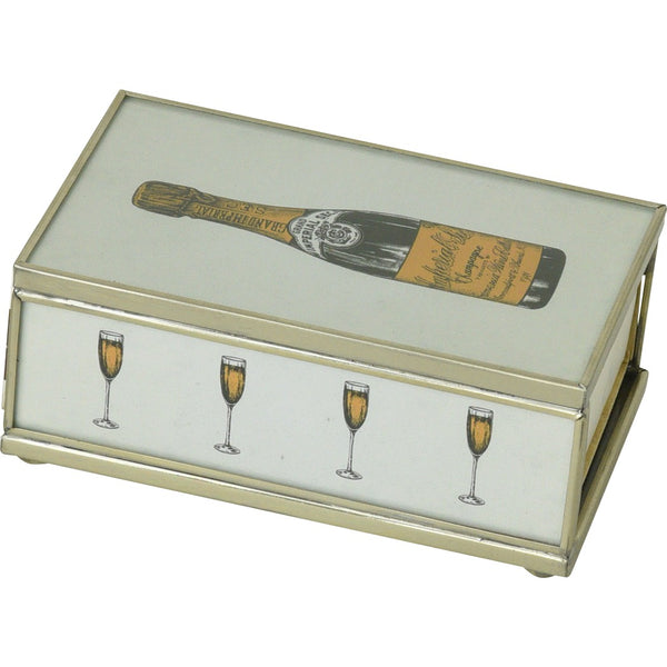 Champagne Bottle Matchbox Cover