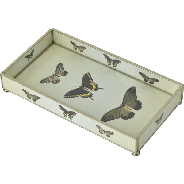 Three Butterflies  6 x 12 Tray
