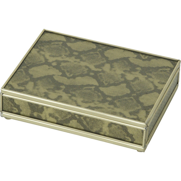 Gold Python card box