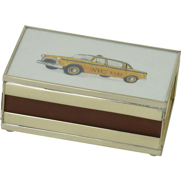 NYC Cab Matchbox Cover