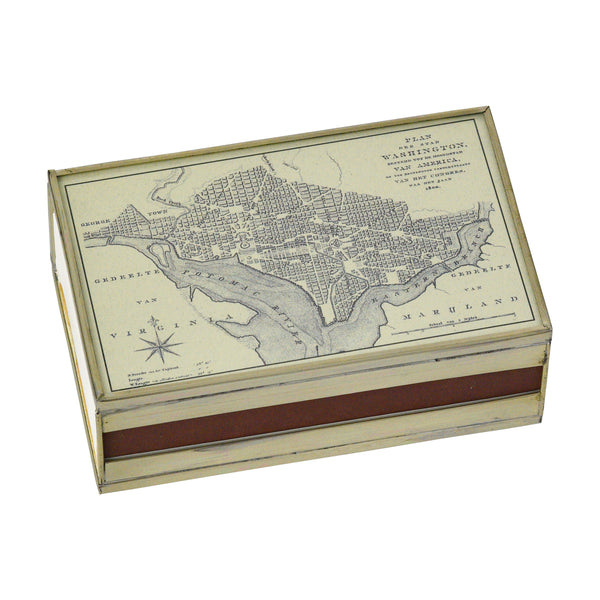DC map matchbox cover