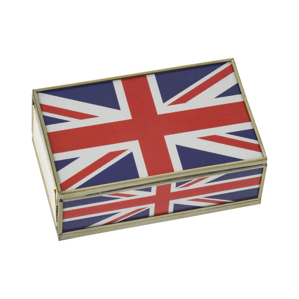 Union Jack Matchbox Cover