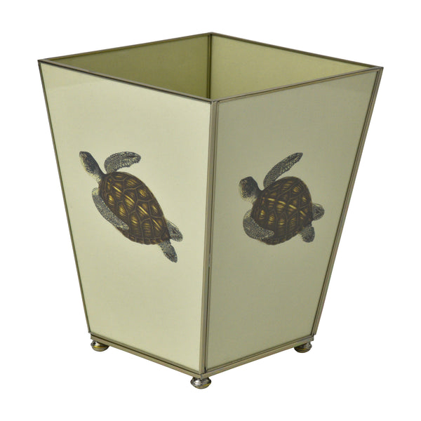 Green Turtle Waste Bin