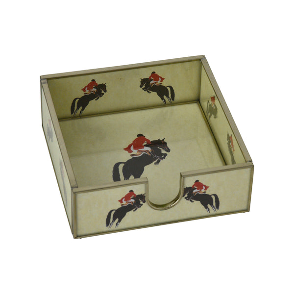 Jumping Horse Cocktail Napkin Holder