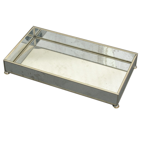 Antique Mirror 6 x 12 tray