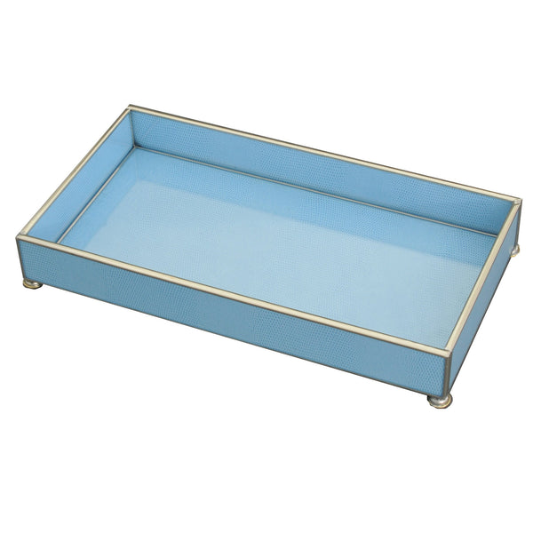 blue lizard skin 6 x 12 tray