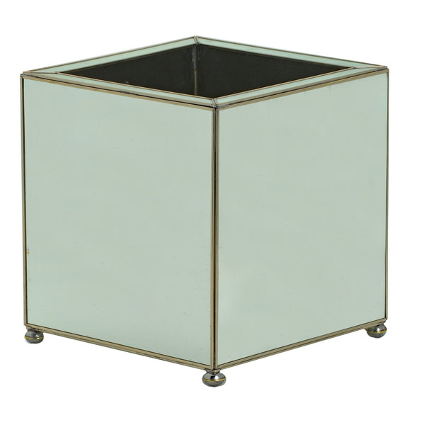 medium square new mirror planter