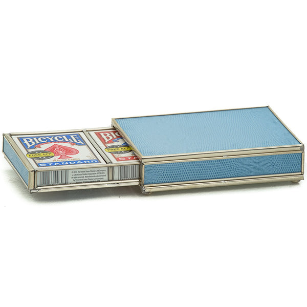 blue skin card box