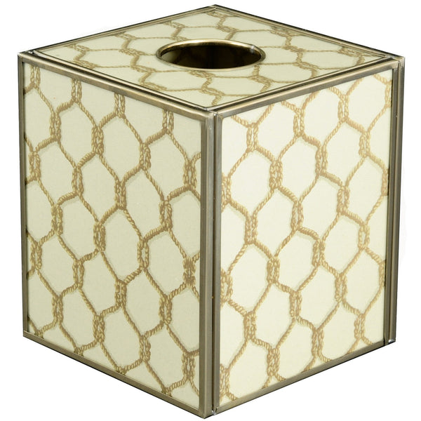 Gold Knot tissue box